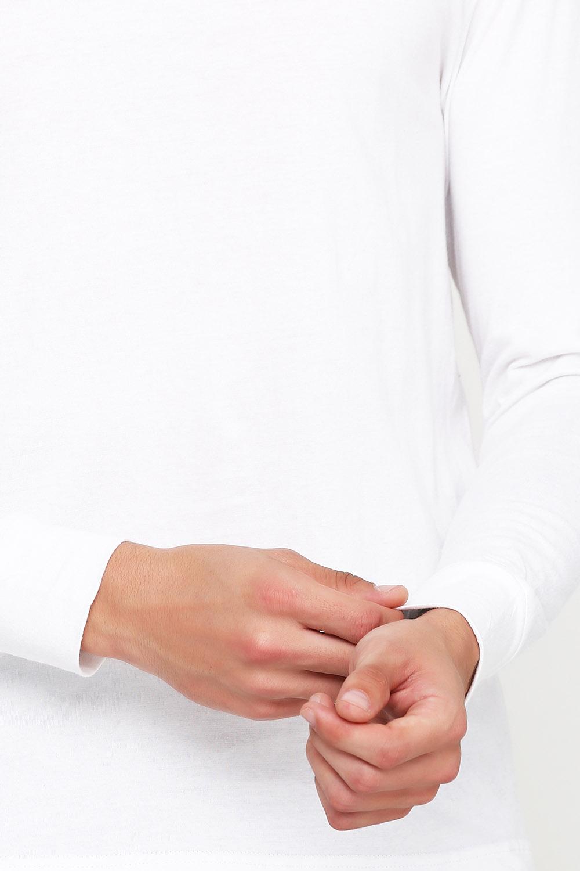 Лонгслив мужской белый